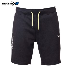 Matrix-Minimal-Black-Marl-Jogger-Shorts-1
